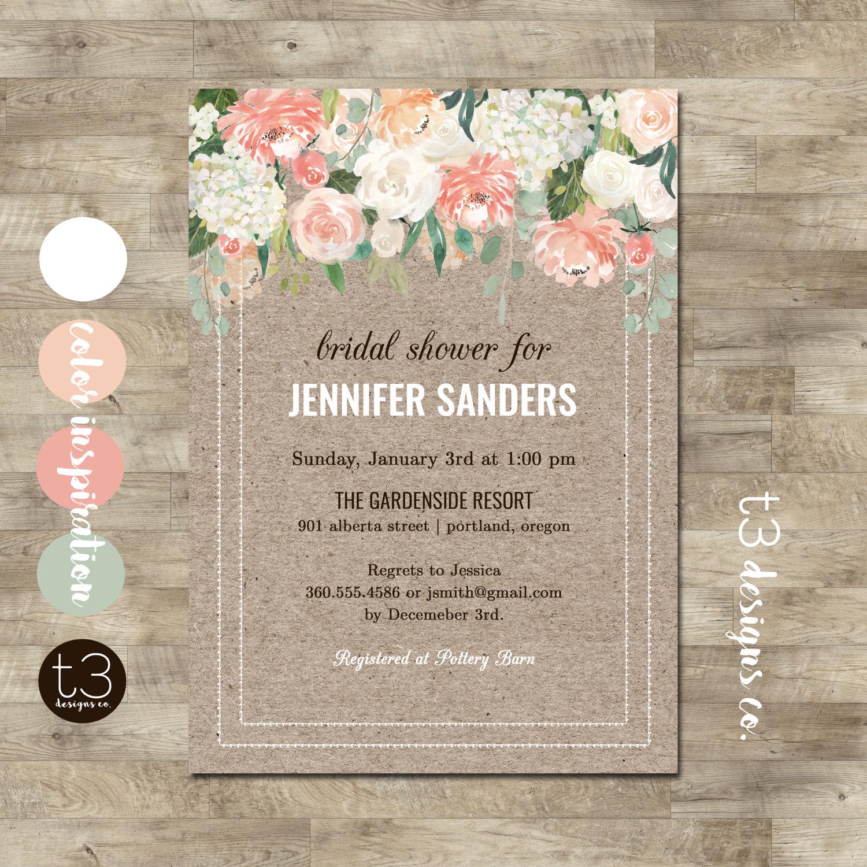 design invitations jar rustic bridal shower free premium templates mason invitation