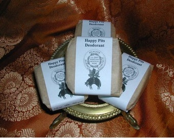 Happy Pits Natural Deodorant Bar The Best Deodorant Ever