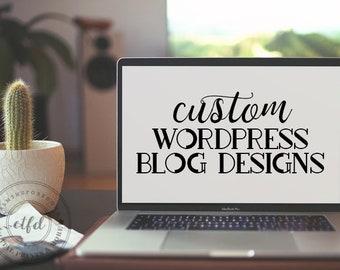 Custom WordPress Blog Design