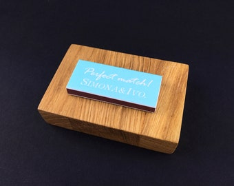 Set of 50 The Perfect Match Matchboxes * Personalized Matches * Wedding Matches * Custom Matches * Personalized Matchbox * The BEST Matches