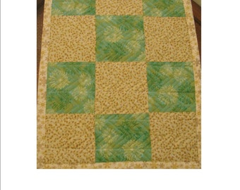 """DREAMING OF SPRING, 18"""" x 24"""" reversible pet quilt"""