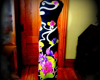 Vintage Mr. Dino Maxi Dress, Pucci Inspired