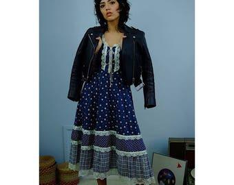 70's Gunne Sax Prairie Dress