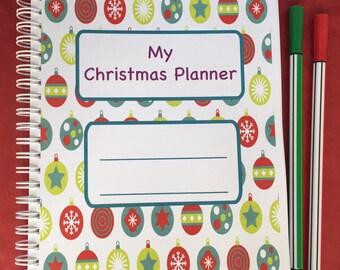 Christmas Planner, Christmas Organiser, Christmas Budget, Holiday Planner, Christmas Planning, Christmas 2018, Christmas Gift Tracker