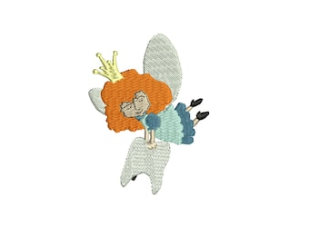 Sale .50 off tooth fairy embroidery design