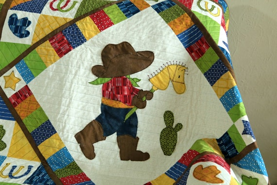 Cowboy Adventures Quilt Pattern Baby Quilts Western Quilts