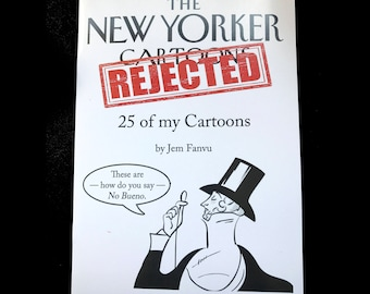 The New Yorker Rejected My Cartoons Zine