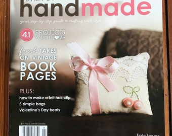 Simply Handmade February/March Issue