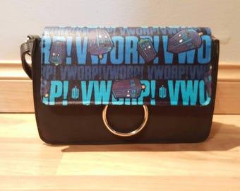 vworp - doctor who handbag - custom made