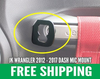 CB Mic Dash Mount for JK Wrangler 2012 - Current