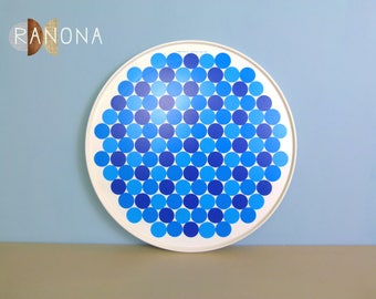 Vintage Mid Century Mod Dots Lazy Susan by Rubbermaid