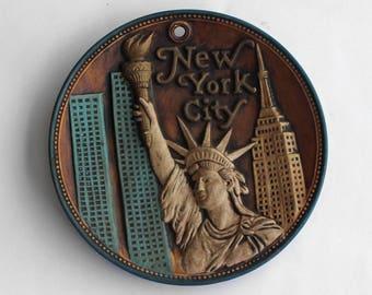 Vintage New York City Souvenir Plate