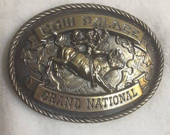 Cow Palace Grand National Belt Buckle