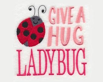 Ladybug Tea Towel   Embroidered Kitchen Towel   Embroidered Towel   Kitchen Gifts   Embroidered Tea Towel   Hand Towel   Ladybug Gifts