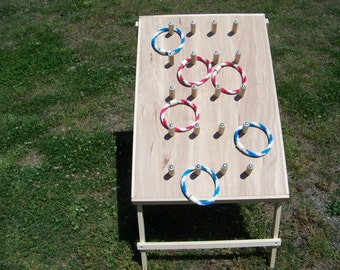 Ring toss game, ring toss, plinko, carnival game, lawn game, yard game, tailgate party, party, event game, home, school event, church