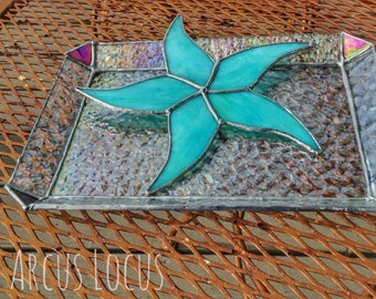 Stained Glass Keepsake Tray
