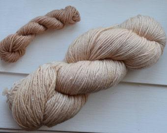 Naturally Dyed Sport Weight Peruvian Wool, 247 yards