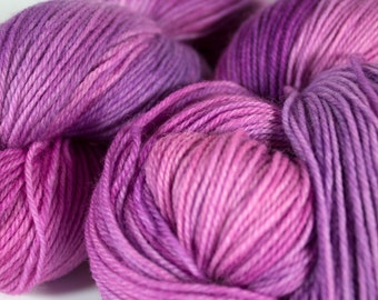 """Wildflower colorway on my """"Comfort"""" base/ 434yds of fingering weight"""