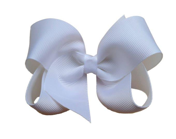 YOU PICK hair bows - hair bow, girls hair bows, baby bows, toddler hair bows, hair bows for girls, bows, 4 inch hair bows, hairbows