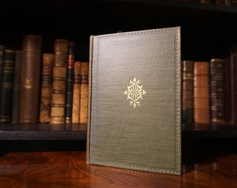Antique Poetry Book - Word of Gray & Collins - 1917 - Oxford University Press Edition