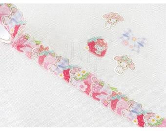 BANDE Sanrio Washi Paper Sticker Series  N-1801-483907- My Melody
