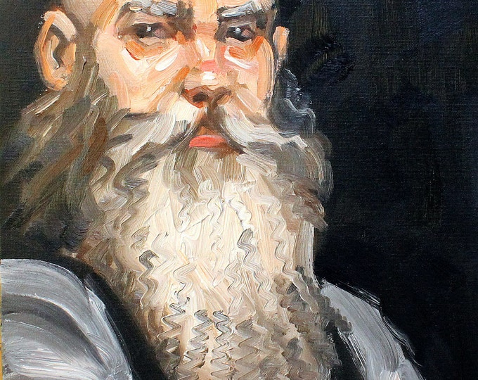 Smythe, oil on canvas panel, 16x20 inches by KennEy Mencher