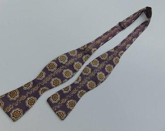 Vintage Tie yourself Bow Tie