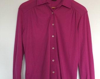 Pink Nylon Blouse