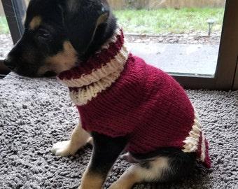 Small Dog Sweater Striped