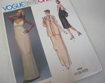 Vogue Paris Original Nina Ricci 1554 Size 10