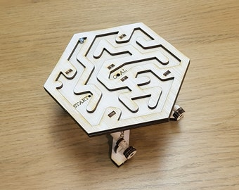 Wooden Maze Puzzle Kit. Free Global Shipping