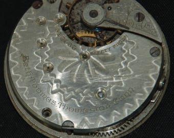 Vintage Antique Waltham Watch Pocket Watch Movement Steampunk SM 61