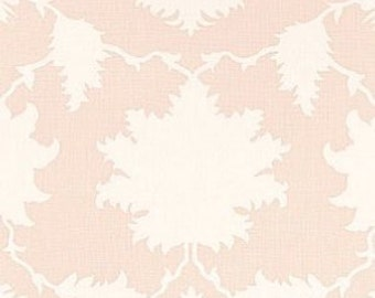Pink Pillow Cover, Blush Pillow, Pale Pink, Ivory, Garden of Persia Blush Conch, Modern Pillow, Schumacher, Throw Pillow, Designer, Nature