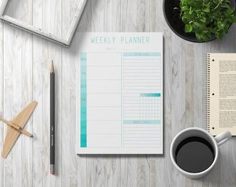 Digital Planner, Weekly Planner Printable, Weekly Planner Pages, Printable Planner Pages, Digital Planner Pages, Downloadable Planner