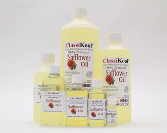 Classikool 100% Pure Safflower Carrier Oil for Massage & Aromatherapy (Free UK Mainland Shipping)