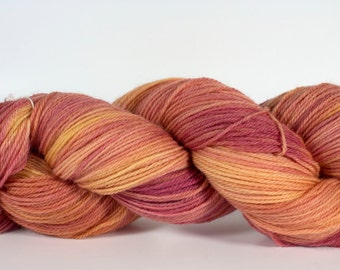 """Orchid colorway on my """"Comfort"""" base/ 434yds of fingering weight"""