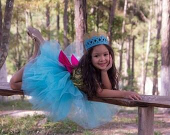 Tulle dress /big bow dress /