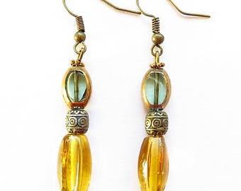Earring hook earring 17554