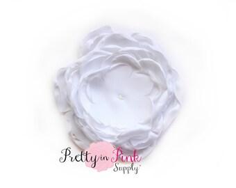 White Chrysanthemum Flower No Center- You Choose Quantity- Diy Headband Supplies- Flower- Wholesale- Supply Shop- DIY Flower Headband