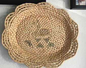 Vintage coil basket * reduced pricing