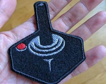 Atari Joystick embroidered patch