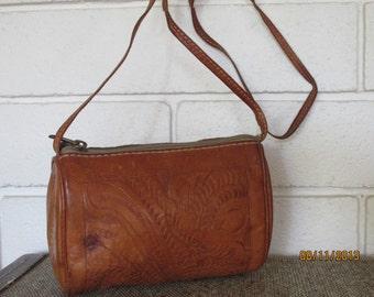 Vintage Cross Body Leather Purse
