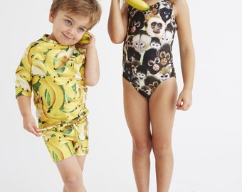 BANANAS: Boy's Swim Shorts