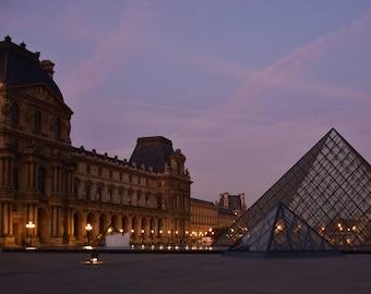 Romantic Paris Louvre Early Morning Light