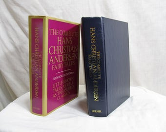 The Complete Hans Christian Andersen Fairy Tales Illustrated  Lily Owens,  Published by Avenel Books 1981 Hardcover Children Book