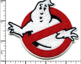 20 Pcs Embroidered Iron on patches Ghostbusters Appliques AP021eB