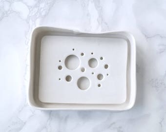 BUBBLE soap dishes