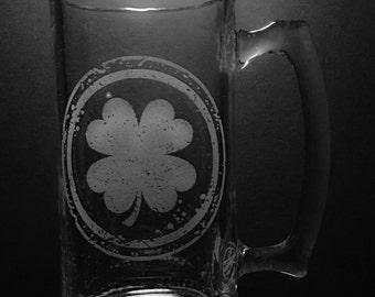 Irish Design 25 Ounce Beer Mug
