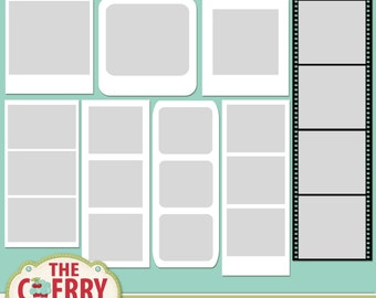 Friendly Frames Digital Templates