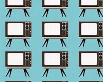 vintage / retro tv fabric